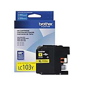 Brother LC103YS Yellow Ink Cartridge