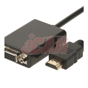 iCAN Self-powered 1080P HDMI  to VGA adapter (ADP HDM-VGAF-SP)