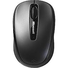 Microsoft Wireless Mobile Mouse 3500 - Lochness Grey  (GMF-00009)