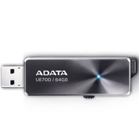 ADATA DashDrive Elite UE700 64GB USB 3.0 Flash Drive, Read: 200MB/s, Write: 95MB/s (AUE700-64G-CBK)
