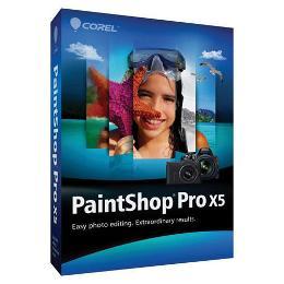 Corel PaintShop Pro X5 Creative Photo Editor - English/French, Windows