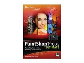 Corel PaintShop Pro X5 Ultimate - English/French, Windows