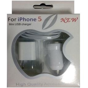 Generic iPhone 5 3 in 1 charger