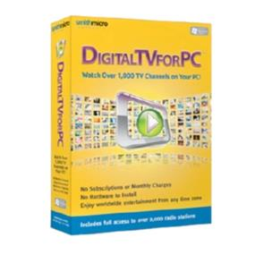 Digital TV for PC 2 - Watch Over 1,000 TV Channels on Your PC