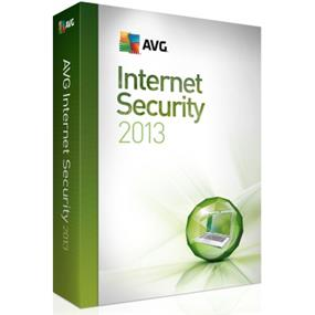 AVG Internet Security 2013 (3-User) Retail Box - English/French