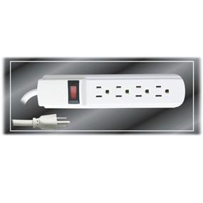 iCAN 4 Outlet Power Strip (1402)