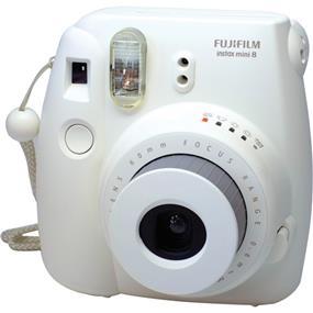 Fujifilm instax mini 8 - Instant Film Camera w/Film (White)