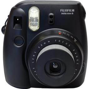 Fujifilm instax mini 8 - Instant Film Camera w/Film (Black)