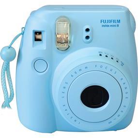 Fujifilm instax mini 8 - Instant Film Camera w/Film (Blue)