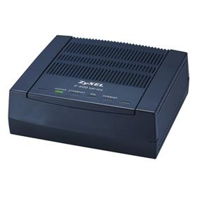ZyXEL P-660R-F1 Compact Series ADSL2+ Ethernet Router