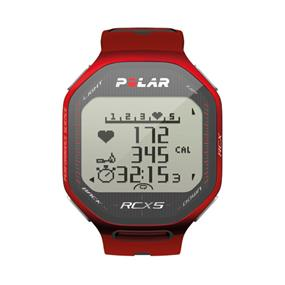 Polar RCX5 GPS Heart Rate Monitor Watch - Red (90042072)
