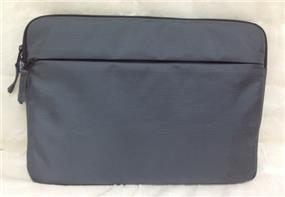 "iCAN TD-003-15-CA 15"" Laptop Sleeve, Grey 1680D Nylon, Waterproof, YKK zippers,mermory foam padded"
