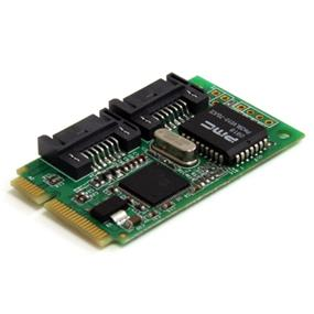 StarTech  MPEXSATA22I 2 Port Mini PCI Express Internal SATA II Controller Card