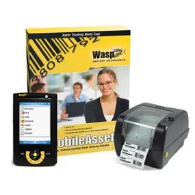 Wasp MobileAsset Enterprise with WPA1000II Mobile Computer & WPL305 Printer - Unlimited Users, 5 Mobile Device License