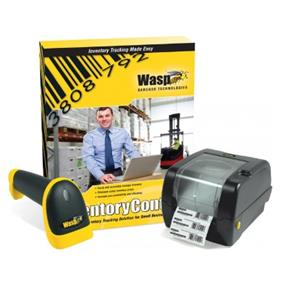 Wasp Inventory Control Standard with WWS550I cordless Barcode Scanner and WPL305 Printer - 1 PC License, 1 Mobile License