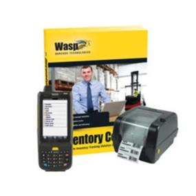 Wasp Inventory Control RF Enterprise with HC1 Mobile Computer and WPL305 Printer - Unlimited PC License, 5 Mobile License