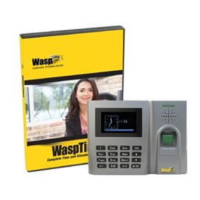 WaspTime Biometric Solution Standard - 50 Users