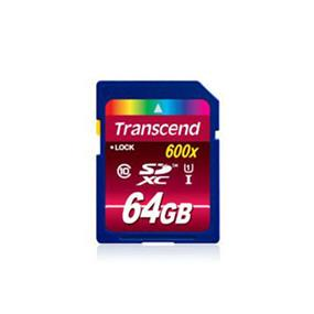 Transcend Ultimate 64GB SDXC Class 10 UHS-I 600x Flash Card Upto 90MB/s Read, 45MB/s Write  (TS64GSDXC10U1)