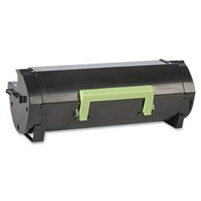 Lexmark 50F1U00 (501U) Remanufactured Black Toner Cartridge Ultra High-Yield