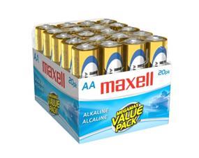 Maxell 20xAA 1.5V Alkaline Batteries(723453)