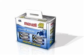 Maxell 48xAA 1.5V Alkaline Batteries(723443)