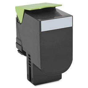 Lexmark 70C1HK0 701HK Black High Yield Return Program Toner Cartridge - Black - Laser - 4000 Page