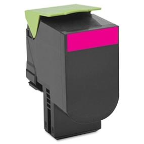 Lexmark 80C1SM0 801SM Magenta Standard Yield Return Program Toner Cartridge - Magenta - Laser - 2000 Page