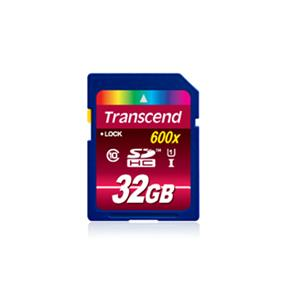 Transcend Ultimate 32GB SDHC Class 10 UHS-I 600x Flash Card , Upto 90MB/s Read, 45MB/s Write (TS32GSDHC10U1)