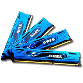G.SKILL Ares Series 32GB (4x8GB) DDR3 2133MHz CL10 Quad Channel Kit (F3-2133C10Q-32GAB)