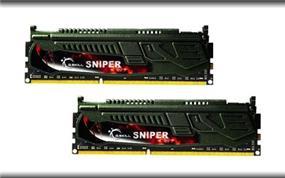 G.SKILL Sniper Series 8GB (2x4GB) DDR3 2400MHz CL11 Dual Channel Kit (F3-2400C11D-8GSR)