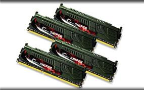 G.SKILL Sniper Series 16GB (4x4GB) DDR3 2400MHz CL11 Quad Channel Kit (F3-2400C11Q-16GSR)