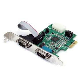 StarTech 2 Port PCI Express Serial Adapter Card (PEX2S952)