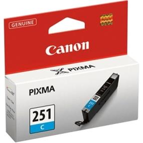Canon CLI-251C Ink Cartridge - Cyan (6514B001)