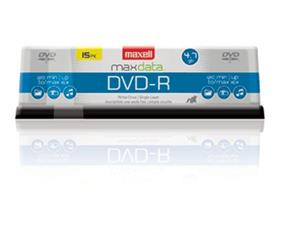 Maxell DVD-R 16X 4.7GB Spindle 15PK (638006)