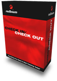 Redbeam Check In Check Out Software - Standard - 1 User (RED-RB-SCO-1)