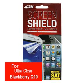 iCAN Ultra Clear Screen Protector for Blackberry Q10