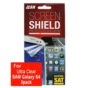iCAN Ultra Clear Screen Protector for Samsung Galaxy S4
