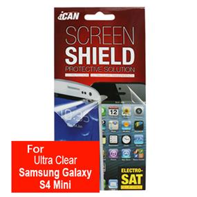 iCAN Ultra Clear Screen Protector for Samsung Galaxy S4 Mini