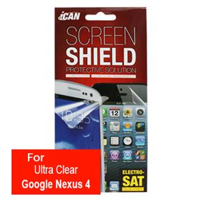 iCAN Ultra Clear Screen Protector for Google Nexus 4