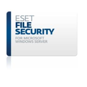 ESET File Security for Microsoft Windows File Server, 2 Year Renewal, Tier B5 (1-10 Users)