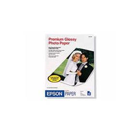 "Epson 5""x 7"" Borderless Glossy Photo Paper 20 Sheets (S041464)"