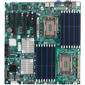 Supermicro H8DGI-F-O Server Motherboard - AMD SR5690 Chipset - Socket G34 LGA-1944 - Extended ATX - 2 x Processor Support -  512GB Registered ECC RAM - Serial ATA/300 RAID Supported Controller - On-board Video Chipset - 3 x PCIe x16 Slot
