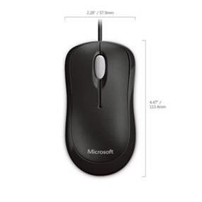 Microsoft Basic Optical Mouse - Black  (P58-00063)