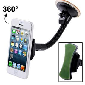 iCAN Car Windshield Mount for mobile phone (Green Gel)