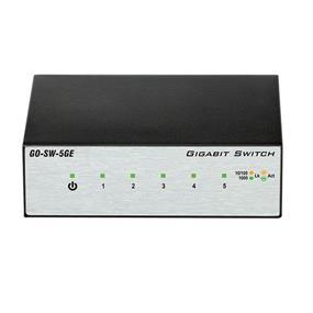 D-Link Gigabit GO-SW-5GE 5-Port Metal Desktop Switch