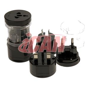 iCAN UK US AU EU All-in-one Universal Travel Adapter for over 150 Countries (ADPUNI-PWR-KIT)