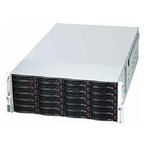 Supermicro SuperChassis SC847E26-RJBOD1 Chassis - Rack-mountable - Black - 4U - 45 x Bay - 7 x Fan(s) Installed