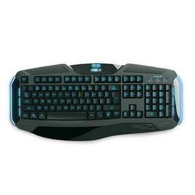 E-Blue USB Cobra II V2 Customizable Backlighting Gaming Keyboard - Black (EKM705BK)