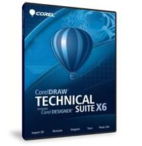 CorelDRAW Technical Suite X6 (1 User License)