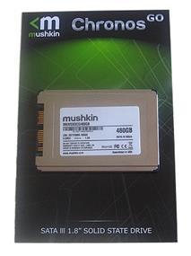 "Mushkin Chronos GO 480GB SATA 6Gb/s 1.8"" Solid State Drive , Read 550MB/s, Write 515MB/s - (MKNSSDCG480GB)"
